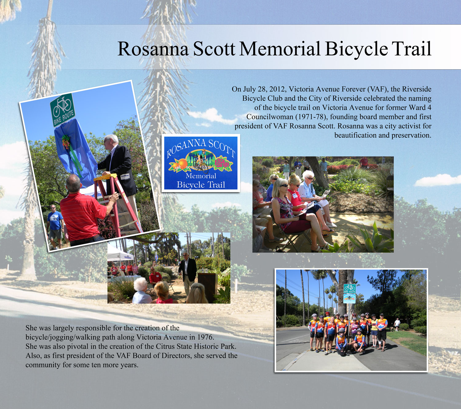Rosanna Scott Memorial Bicycle Trail